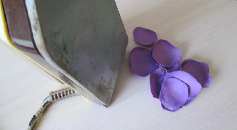 Мастер-класс: сиреневые розы из фоамирана, фото пошагово