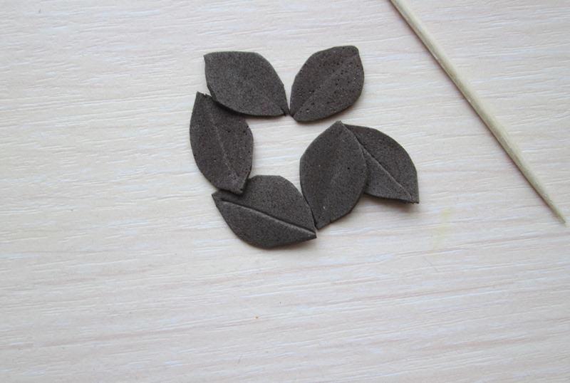 Цветок лилии из фоамирана, фото пошаговое