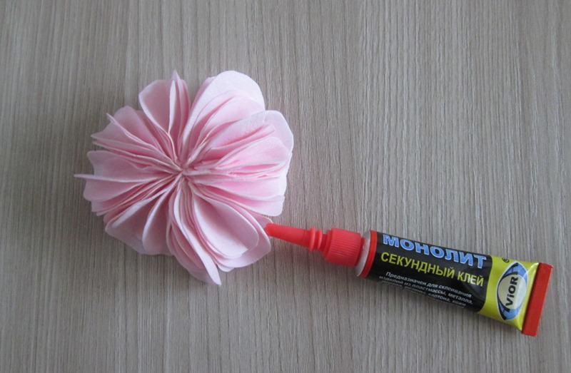 Пионовидная роза из фоамирана: мастер-класс с пошаговыми фото