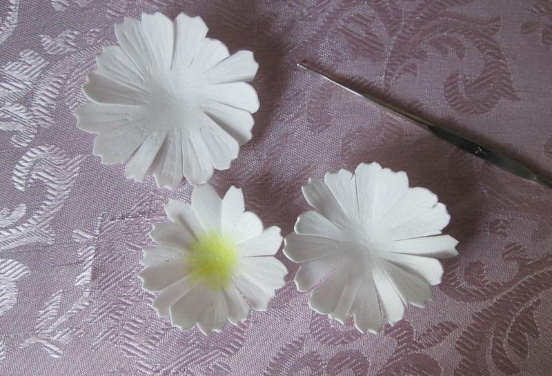 Махровая ромашка из фоамирана: мастер-класс, фото
