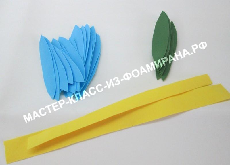 Шаблоны лотоса из фоамирана, фото
