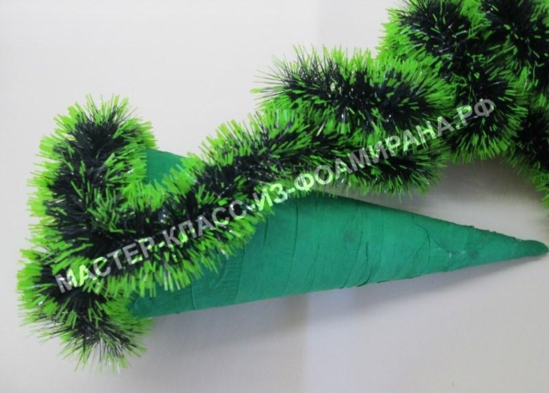 Мастер-класс: елка украшенная конфетами, пошаговые фото