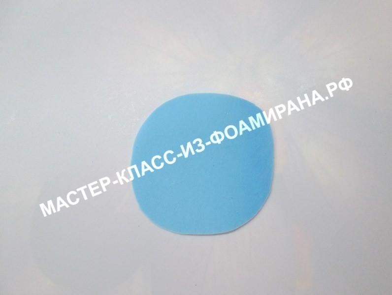 Мастер-класс по фоамирану:снежинка из зефирного фоамирана, пошаговые фото