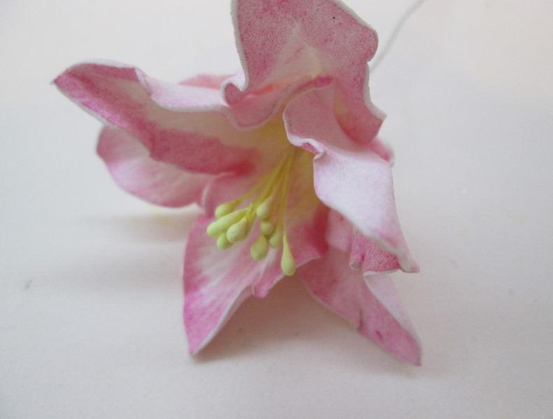 Как сделать маленькую лилию из фоамирана: мастер-класс, фото