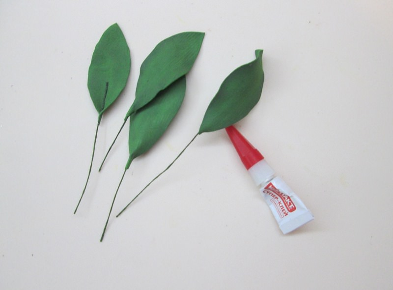 Как сделать листья лилии: мастер-класс, фото
