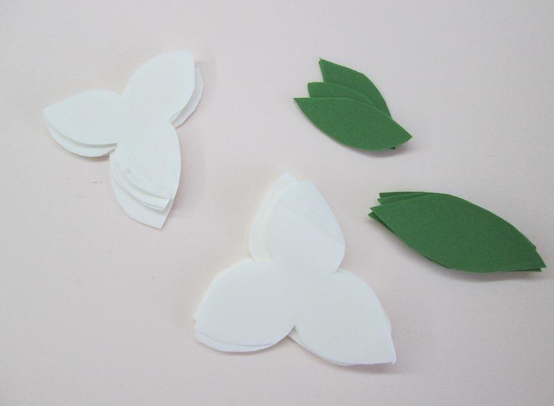 Шаблоны маленькой лилии из фоамирана, фото