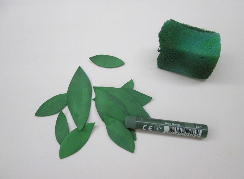 Как сделать тонировку листьев лилии: мастер-класс, фото
