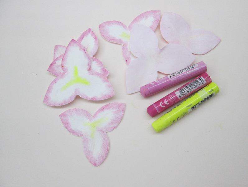 Как сделать тонировку лепестков лилии: мастер-класс, фото