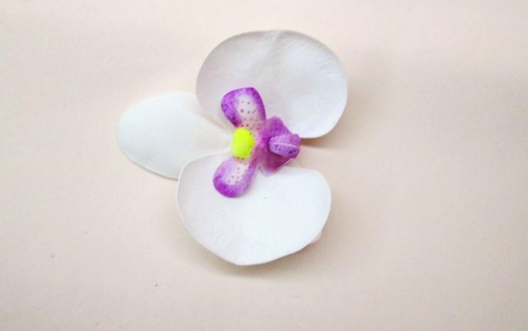 Орхидея из фоамирана, фото