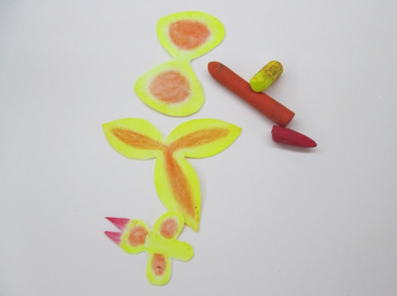 Тонировка желтой орхидеи, пошаговое фото