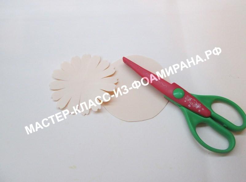 подготовка лепестковых кругов