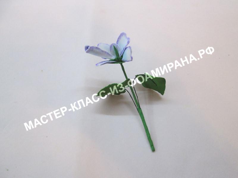 сборка цветочка