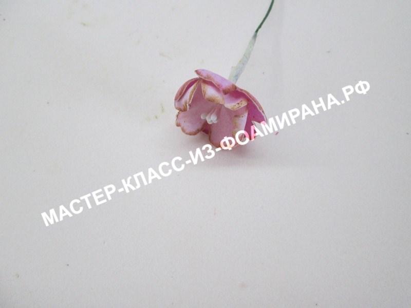 сборка цветка сакуры