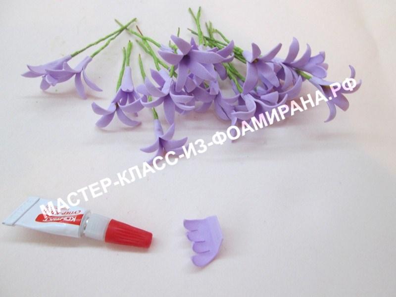 формирование цветочков