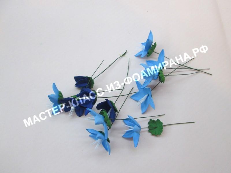 сборка цветов