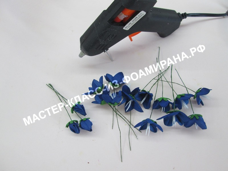 сборка цветочков