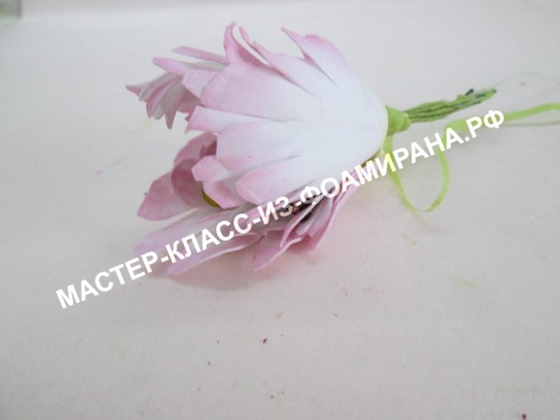 Первоцвет из фоамирана: мастер-класс пошаговым фото