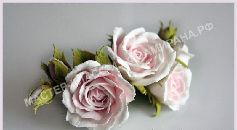 летние цветы из фоамирана
