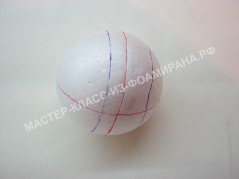 обработка шара