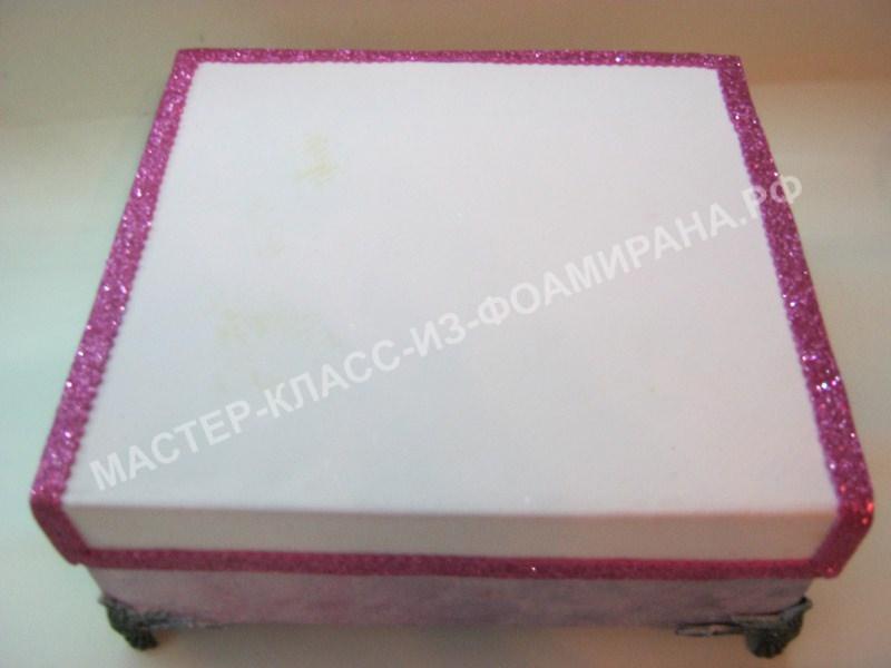 украшение коробки