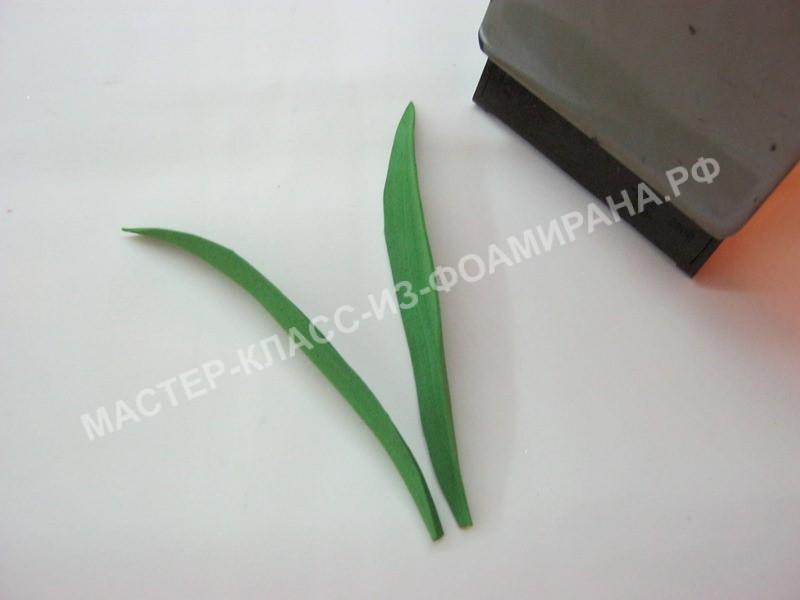 обработка листьв