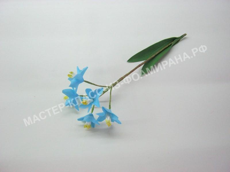 Цветки хионодоксы -синие цветы из фоамирана.
