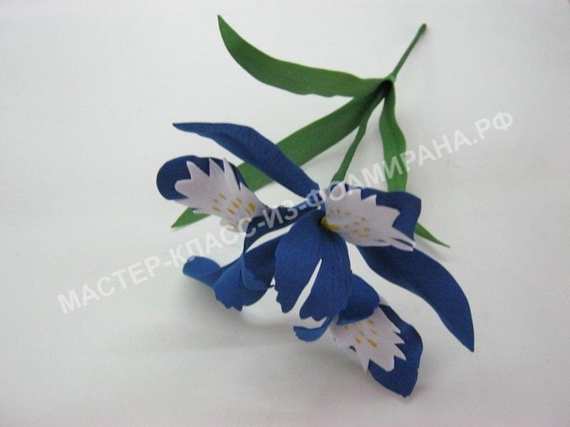 мастер- класс весенние цветы, пошаговое фото