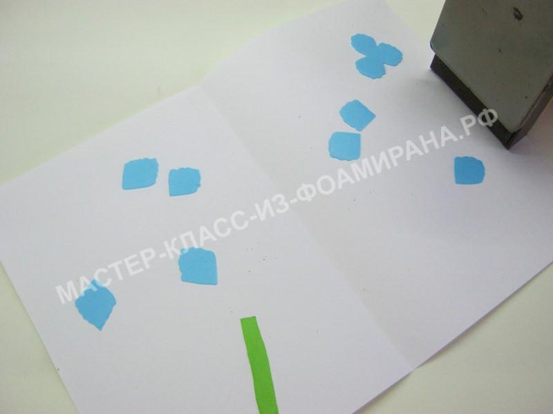 обработка лепестков