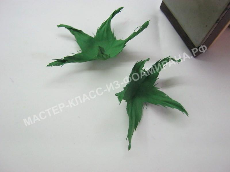 обработка чашелистиков