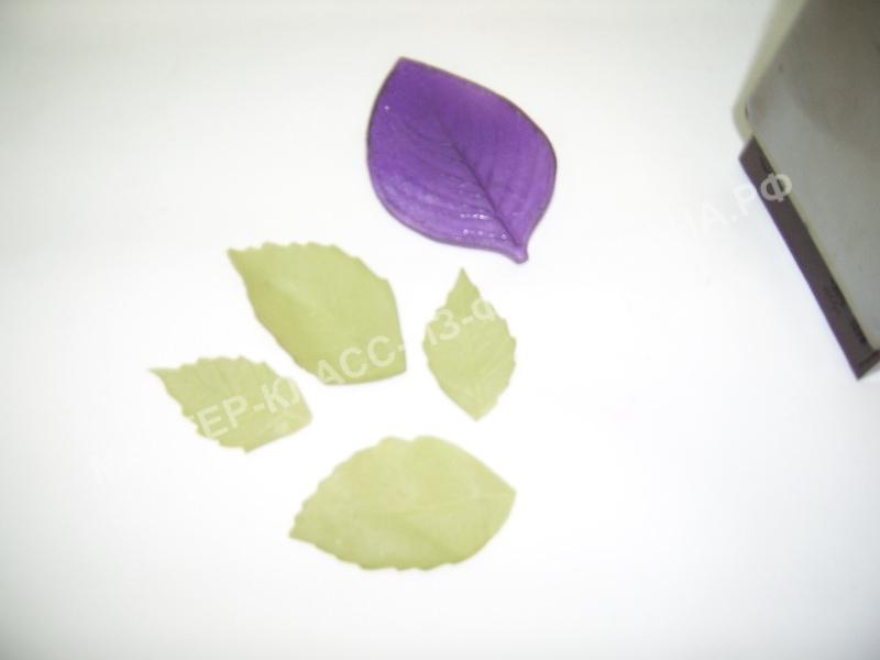 обработка листочков миндаля