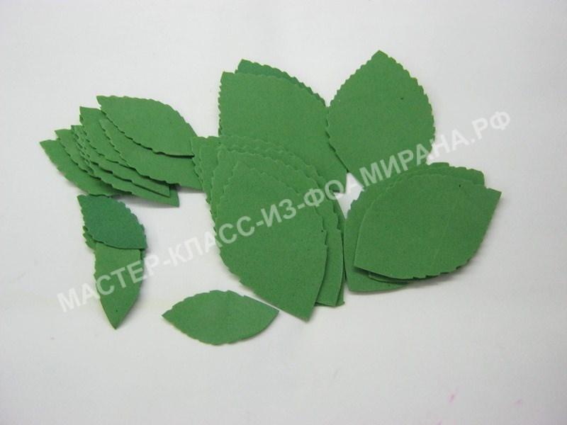 заготовки листьев