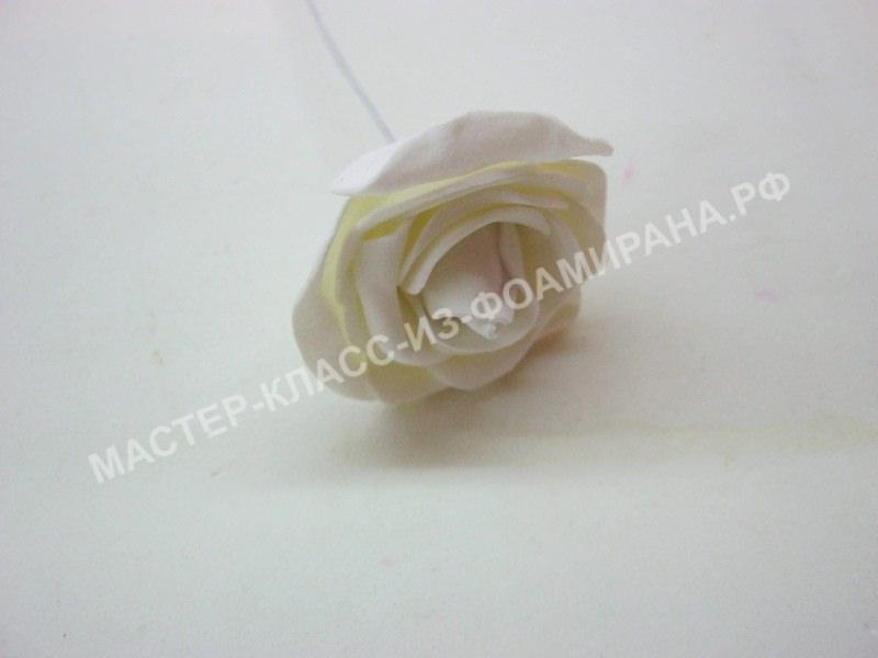 сборка винтажной розы