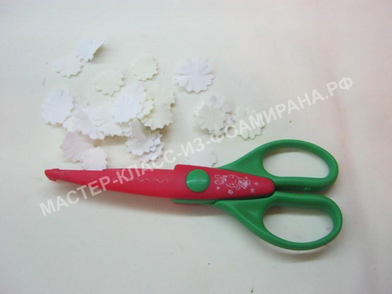 подготовка заготовок лепестков
