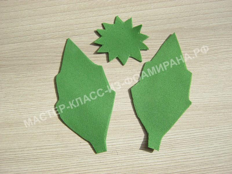 заготовки для листьев