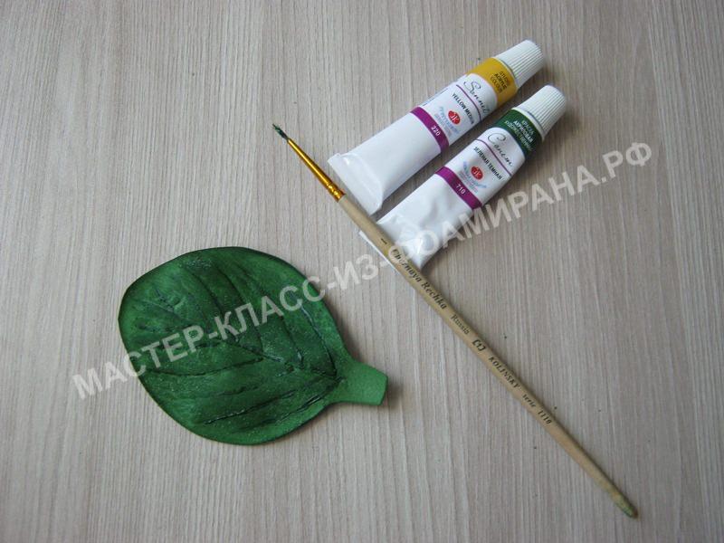 выделение текстуры лепестка