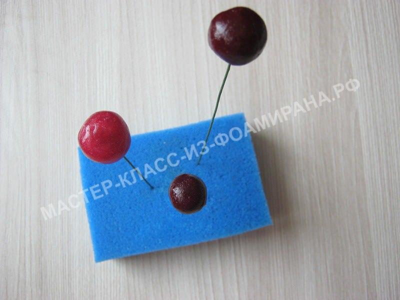 формирование ягодок вишни