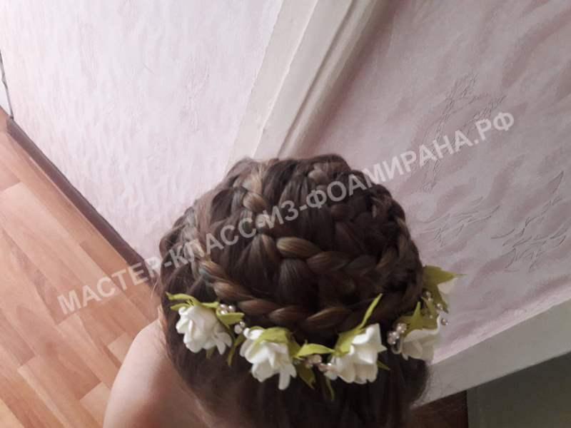 Мастер-класс шпильки для волос своими руками
