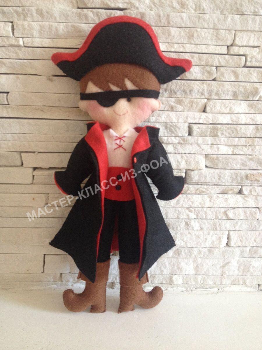 Кукла из фетра: как сшить за полчаса красивую игрушку?