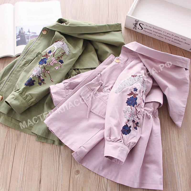 Детская одежда с вышивкой: стиль и красота