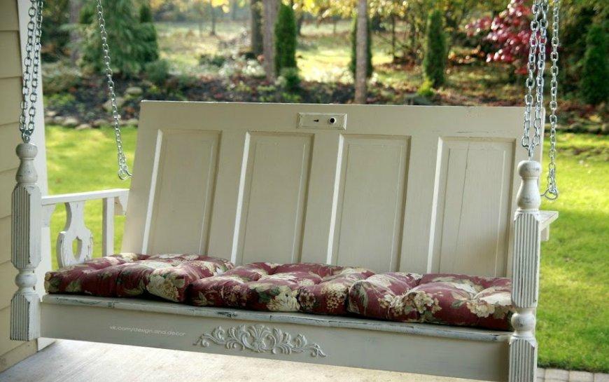 Топ 10 способов использовать старую дверь в интерьере