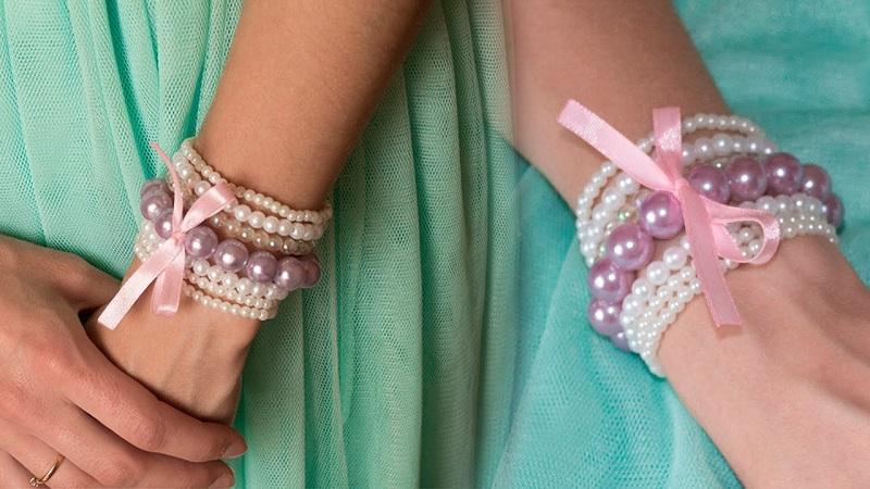 Красивый браслет на руку