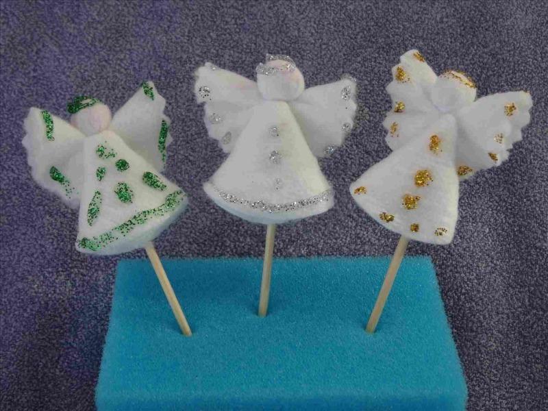 С неба Ангел к нам спустился: 5 простых идей создания главного символа Рождества за полчаса
