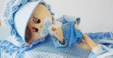 Кукла из фоамирана, фото