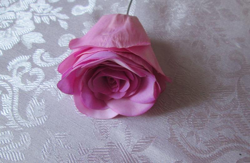 Как сделать бутон розы из фоамирана своими руками 96