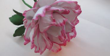 Цветы из зефирного фоамирана, мастер-класс