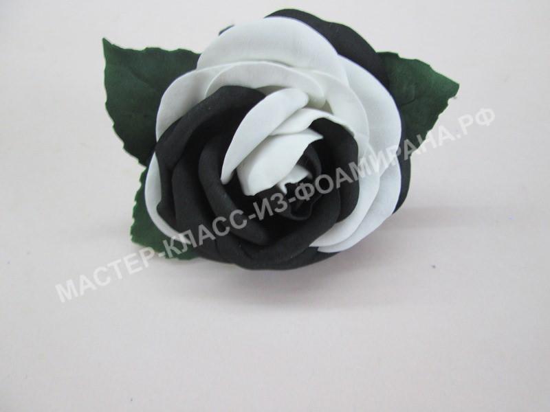 Резинки из фоамирана с розой: пошаговый мастер-класс