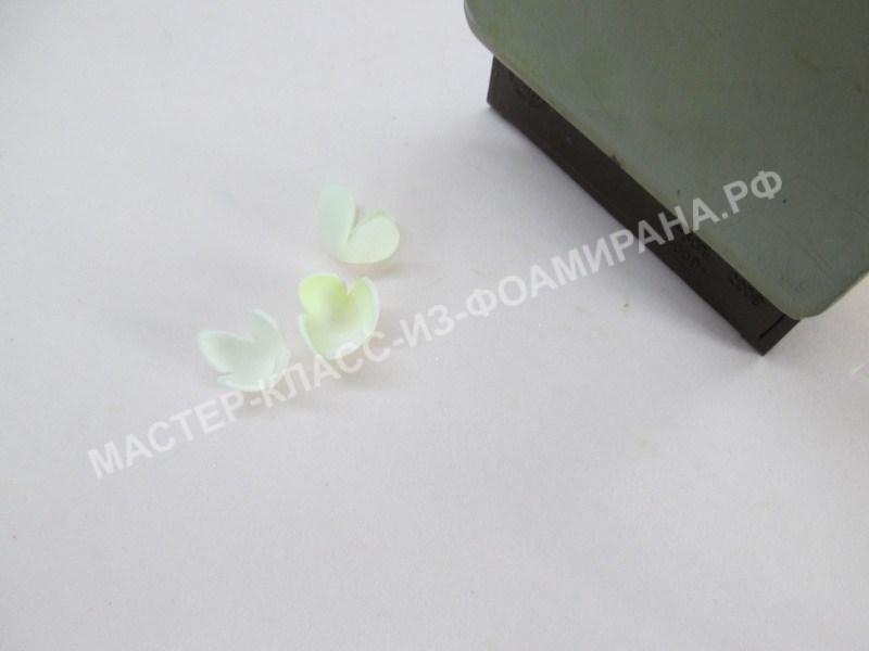 обработка лепестков для бутонов