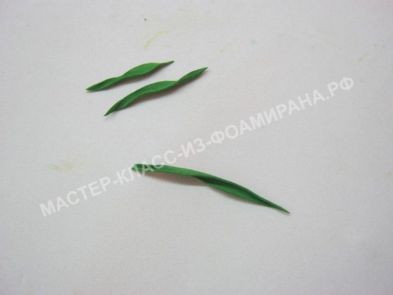 подготовка листочков