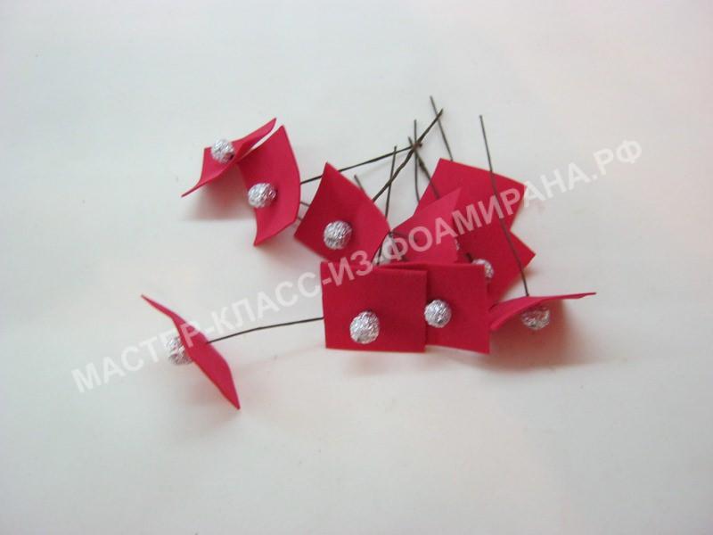 формирование ягодок рябины