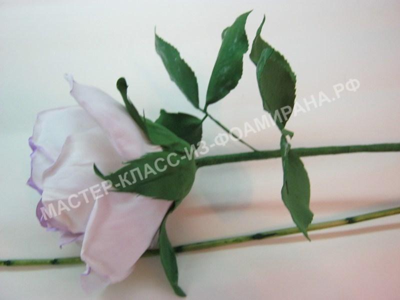 крепление цветка к длинному стеблю